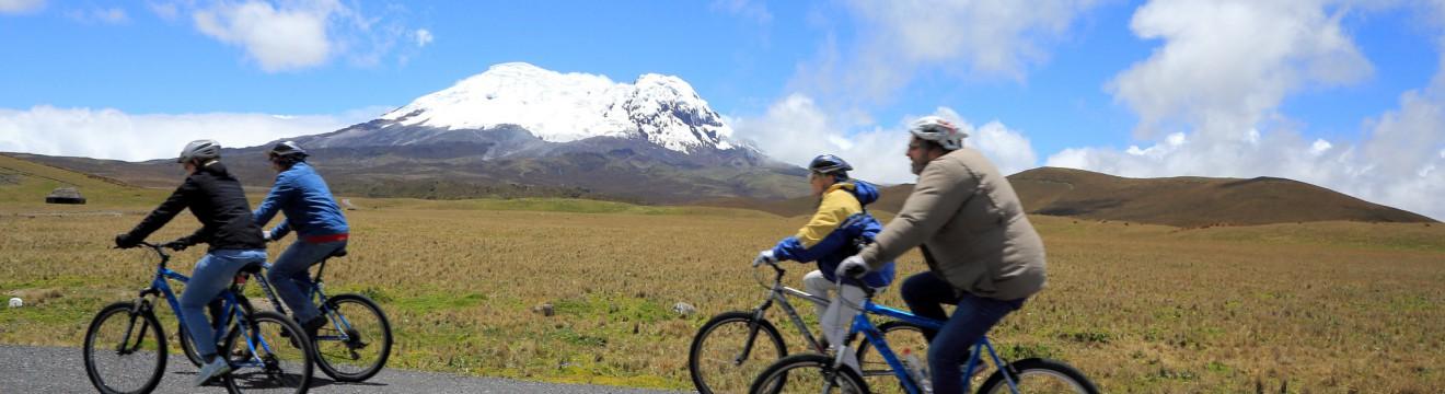 Antisana bike tour