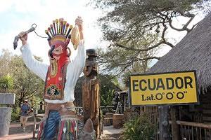 Ecuador latitude cero